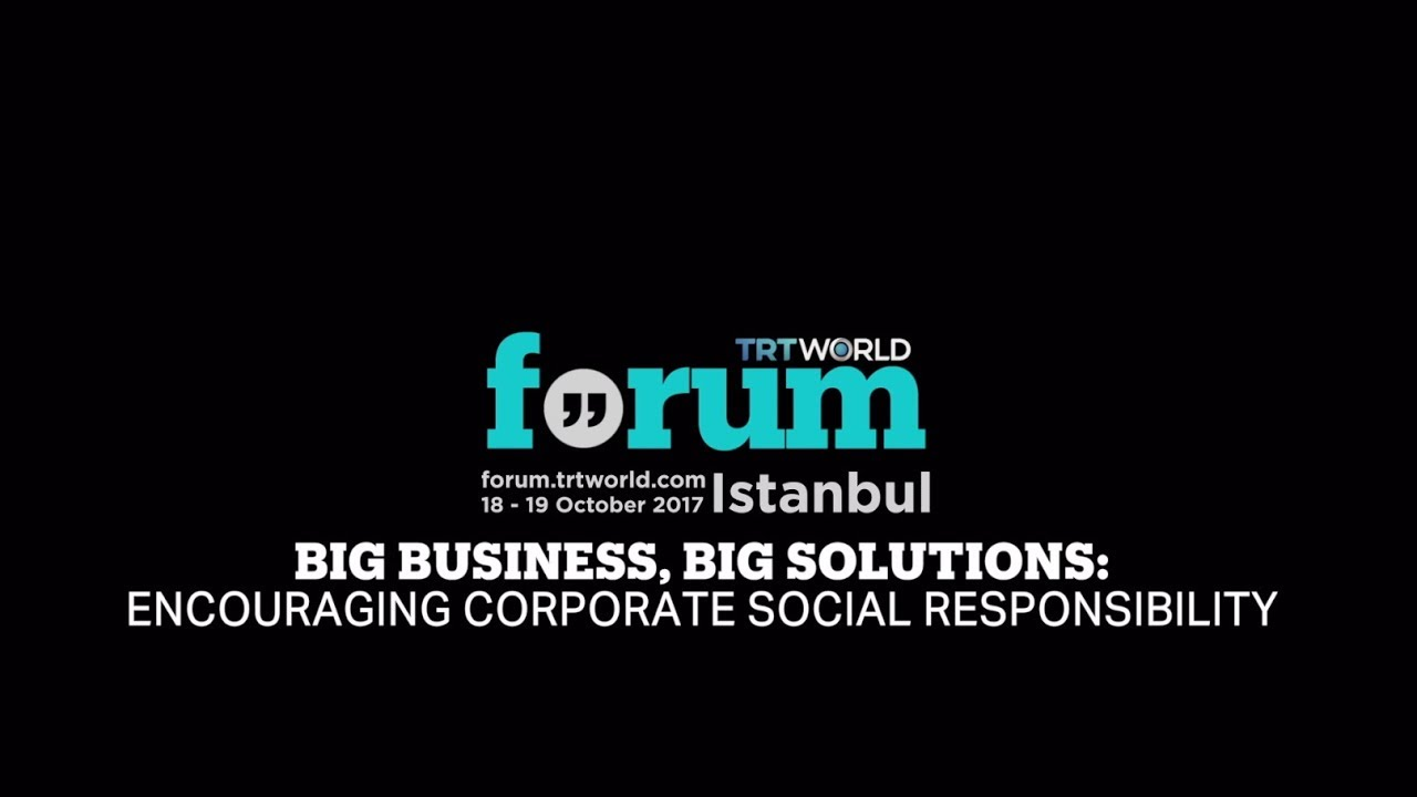 TRT World Forum 2017: Big Business, Big Solutions