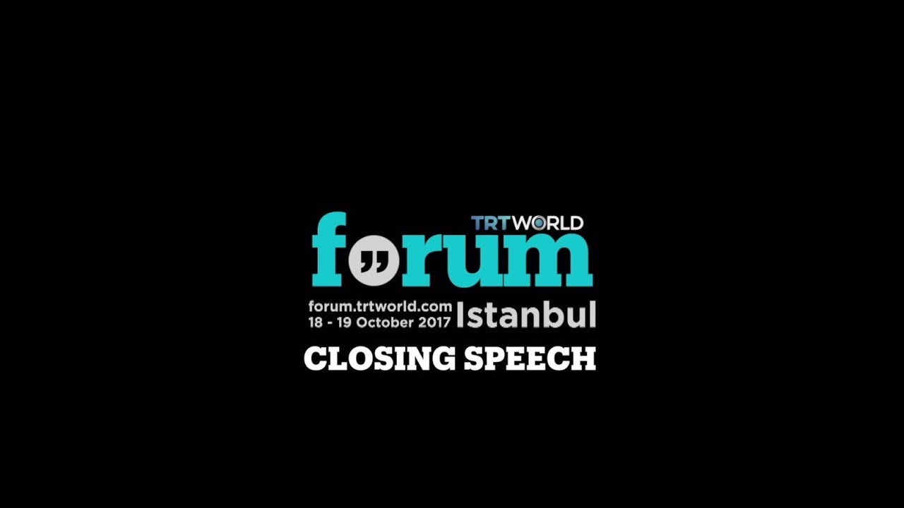 TRT World Forum 2017: Closing Keynote with President Erdogan