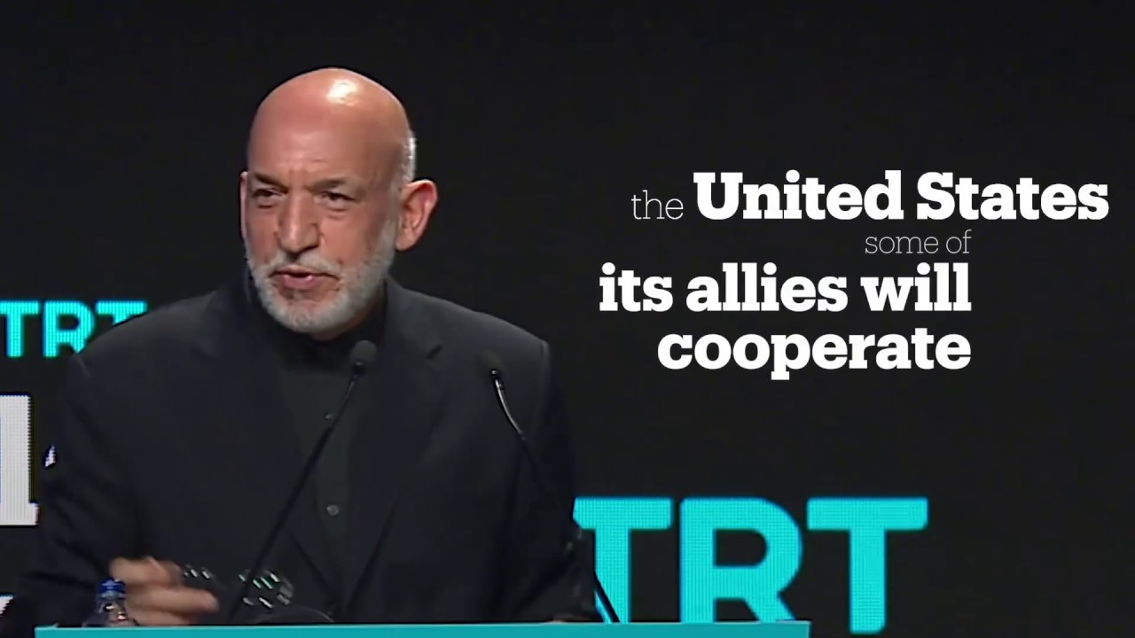 TRT World Forum 2018 – Former President of Afghanistan Hamid Karzhai