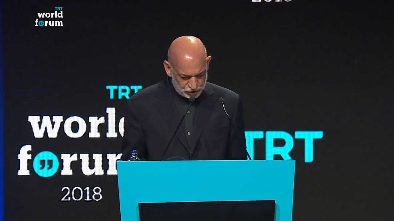 TRT World Forum 2018: Karzai on America's objective of defeating terrorism and its impact