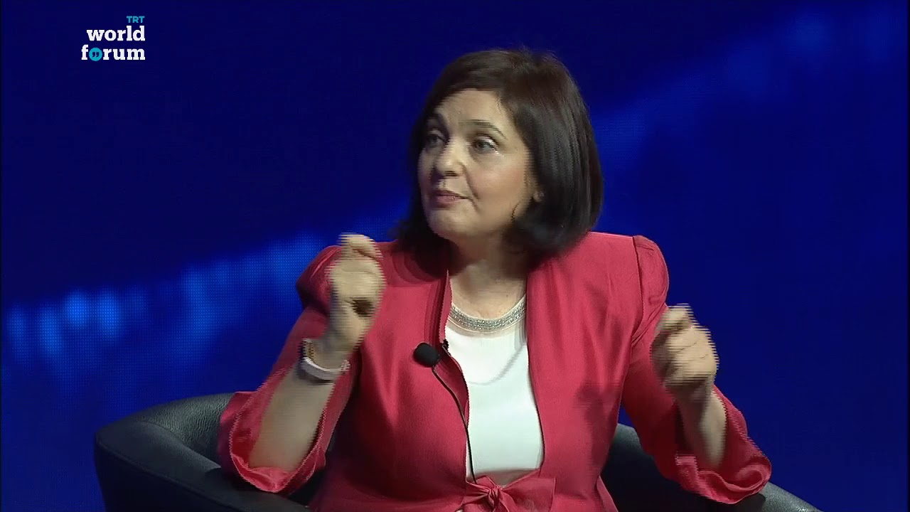 TRT World Forum 2018: Maha Yahya on Syrians' suffering in the war
