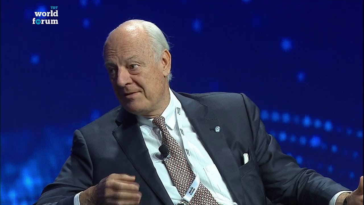 TRT World Forum 2018: Staffan de Mistura on the challenges of Turkey-Russia deal on Idlib