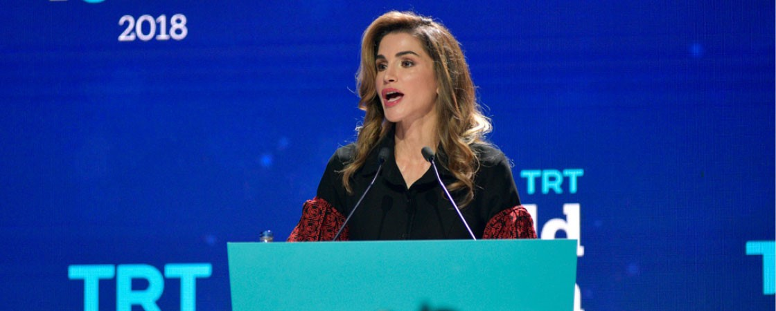 Keynote Speech: Her Majesty Queen Rania Al Abdullah of Jordan's