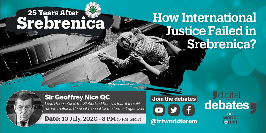 How International Justice Failed in Srebrenica?