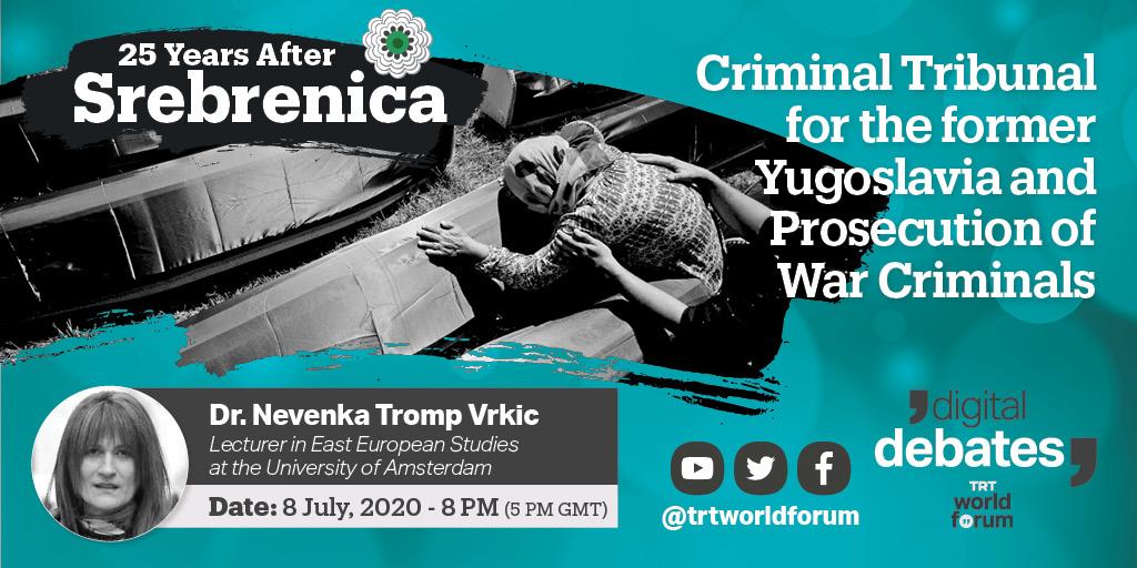 Criminal Tribunal for the former Yugoslavia and Prosecution of War Criminals