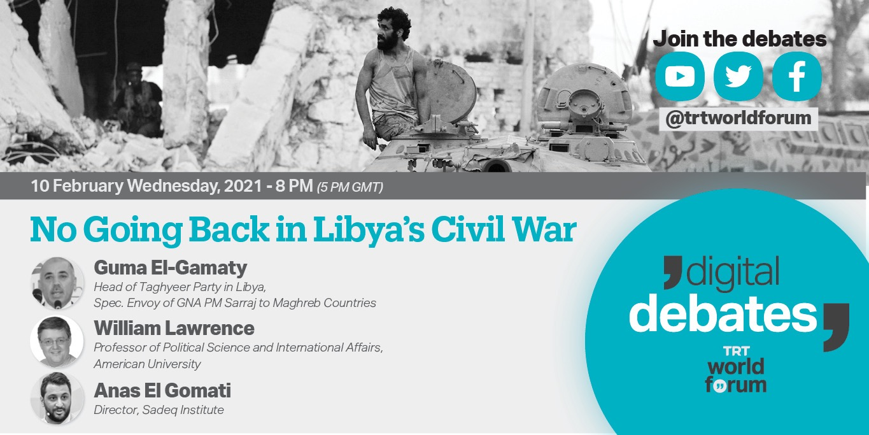 No Going Back in Libya's Civil War