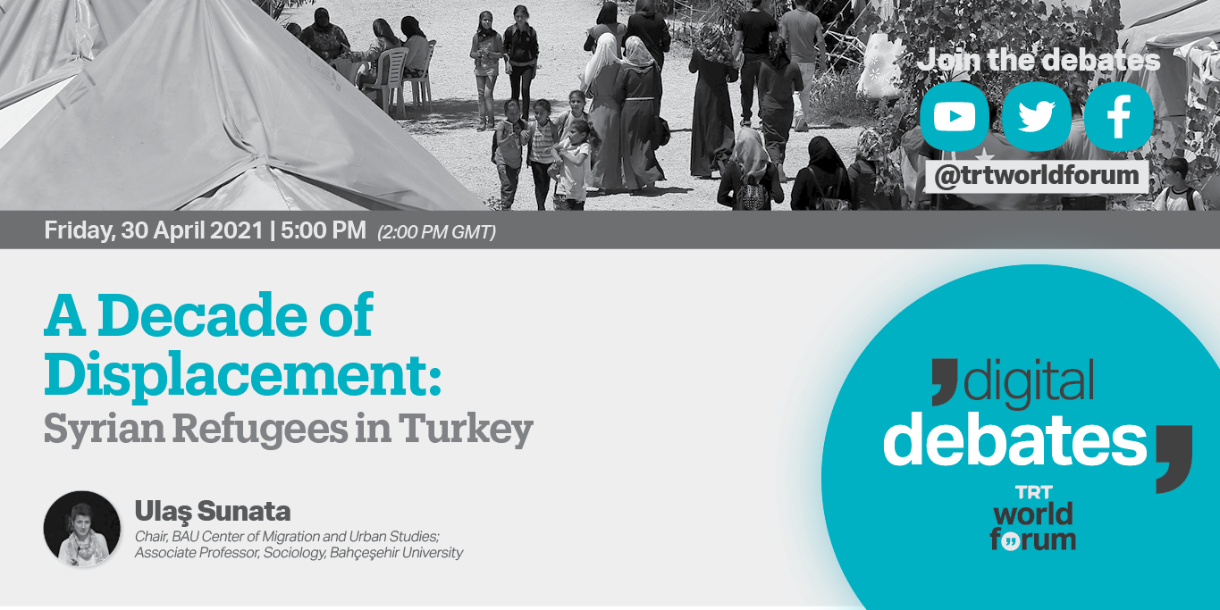 A Decade of Displacement: Syrian Refugees in Turkey