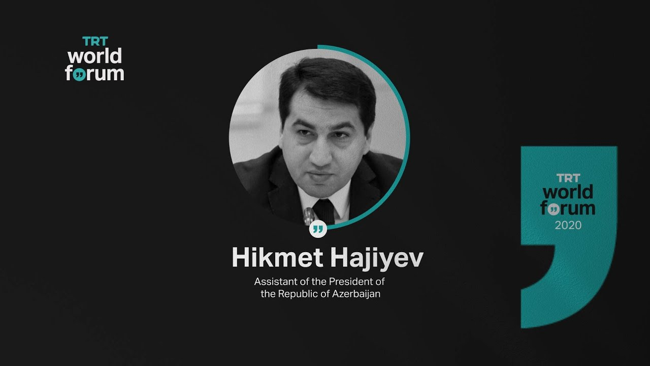 TRT World Forum 2020 Highlight – Hikmet Hajiyev
